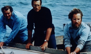 Robert Shaw, Scheider e Richard Dreyfuss