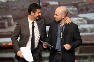 Fabio Fazio e Roberto Saviano