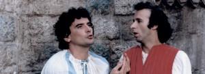 Massimo Troisi e Roberto Benigni