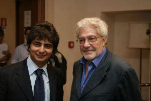 Gianvito Casadonte ed Ettore Scola