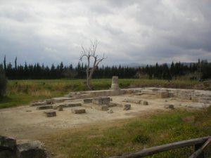 Locri Epizefiri. Tempio di Marasà