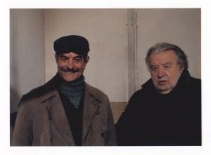 """""""Un matrimonio"""" : Fiorino e il regista del film, Pupi Avati"""