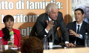 Ambra Angiolini, Michele Placido, Alessandro Gassman