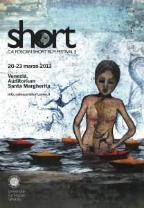 La locandina di Ca' Foscari Short Film Festival, opera di Igor Imhoff