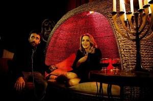 """Claudia Gerini e Federico Zampaglione sul set di """"Tulpa"""""""
