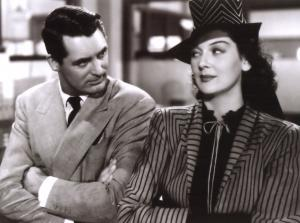 Cary Grant e Rosalind Russell