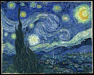 "Vincent Van Gogh ""Notte stellata"", 1889, olio su tela. Museum of Modern Art, New York"