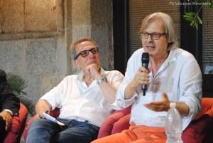 Mario Caligiuri, Vittorio Sgarbi