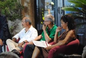 Carmine Abate, Gilberto Floriani, Maria Faragò