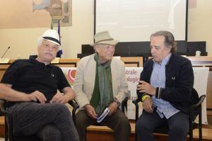 Michele Placido, Giorgio Albertazzi, Enrico Montesano