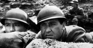 "Vittorio Gassman e Alberto Sordi ne ""La grande guerra"""