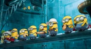 I Minions in pausa pranzo