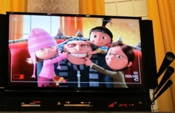 Edith, Gru, Agnes e Margo