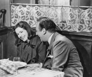 Greta Garbo e Melvyn Douglas