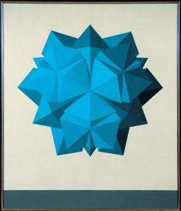 Saffaro-Il poliedro (-m2-Opus CCLXIII 9-aprile-1985)