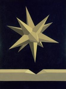 La stella di Origene-(opus ccxcii-15 dicembre-1991Coll.Fondazione Saffaro-Bologna