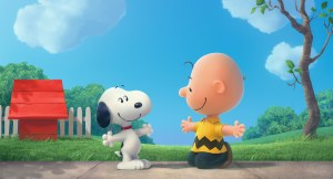 Snoopy e Charlie Brown Foto © 2014 Twentieth Century Fox Film Corporation. All rights reserved. Not for sale or duplication.