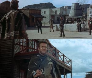 """Clint Eastwood e Gian Maria Volontè, il duello finale di """"Per un pugno di  dollari"""""""
