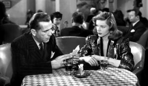 """Bogart e Lauren Bacall ne """"Il grande sonno"""""""