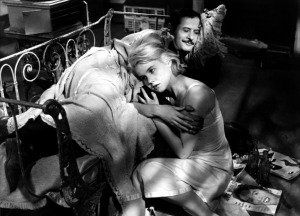 "Carrol Baker e Wallach in ""Baby Doll"""