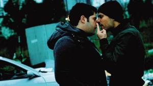 """Salvatore Esposito e Marco d' Amore in una scena di """"Gomorra- la serie"""" (lastampa.it)"""