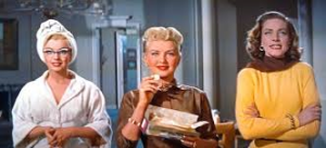 "Marilyn Monroe, Betty Grable e Bacall in ""Come sposare un milionario"""