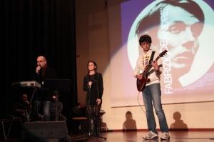 Claudio Sottocornola, live con gli studenti