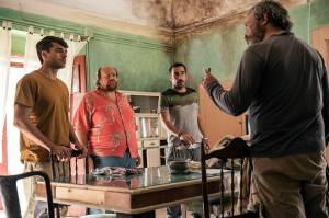 Argentero, Fresi, Leo e Claudio Amendola (Movieplayer)