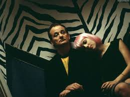 "Murray e Scarlett Johansson in ""Lost in Translation"""