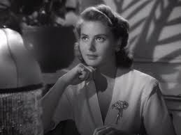 "Ingrid Bergman in ""Casablanca"""