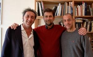 Da sinistra: Sorrentino, Moretti e Garrone (ansa.it)