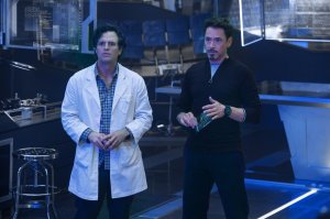 Mark Ruffalo e Robert Downey Jr.
