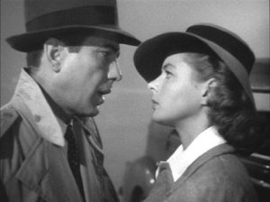Humphrey Bogart e Ingrid Bergman