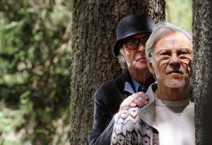 Michael Caine e Harvey Keitel (foto di Gianni Fiorito)