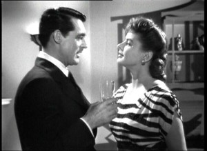 Cary Grant ed Ingrid Bergman