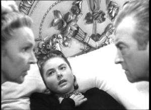 Leopoldine Konstantin, Bergman e Claude Rains