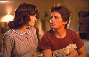 Lea Thompson e Michael J. Fox