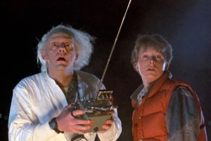 Christopher Lloyd e Michael J. Fox