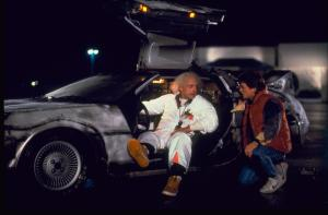 Lloyd, Fox e la mitica DeLorean MC12