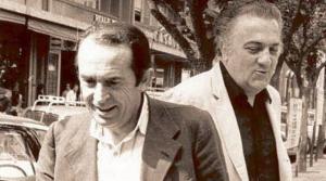 Tonino Guerra e Federico Fellini (Il Resto del Carlino)