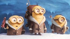 Bob, Kevin, Stuart