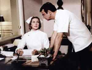 Ingrid Bergman e Walther Matthau