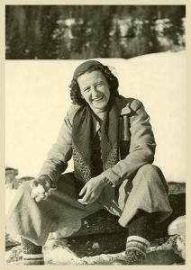 Antonia Pozzi a Madonna di Campiglio (dicembre 1937)