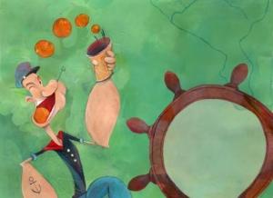 Il Popeye/Braccio di Ferro di Flavia Sorrentino