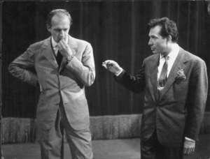 Raimondo Vianello e Tognazzi