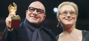 Gianfranco Rosi e Meryl Streep (repubblica.it)