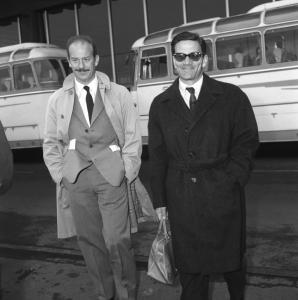Alfredo Bini e Pier Paolo Pasolini