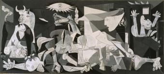 """Guernica"", Pablo Picasso (1937)"