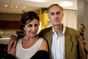 Francesca Reggiani e Roberto Citran