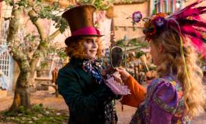 Johnny Depp e Mia Wasikowska